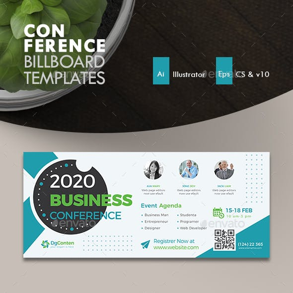 Conference Billboard Template