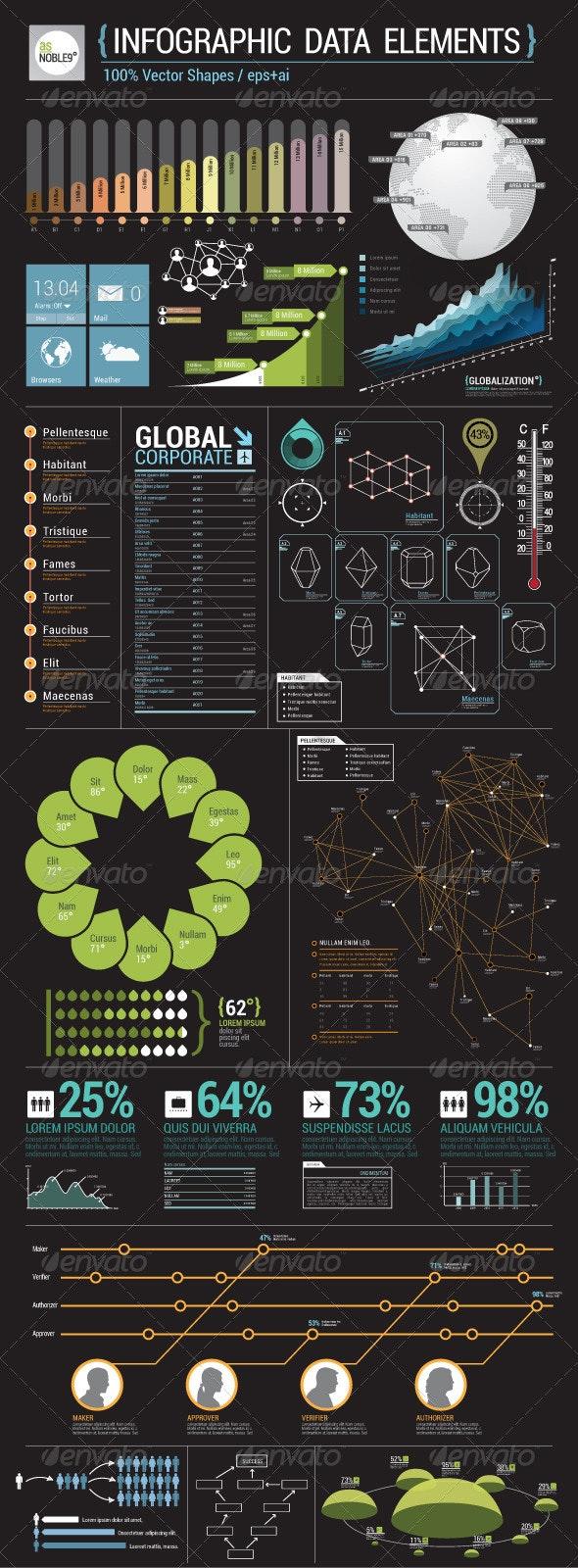 Infographic Data Elements - Infographics