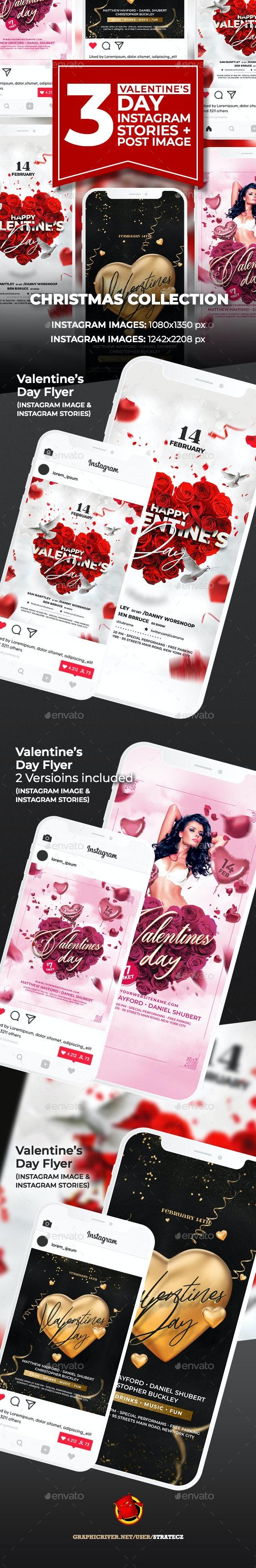 Valentines Day Instagram - Web Elements