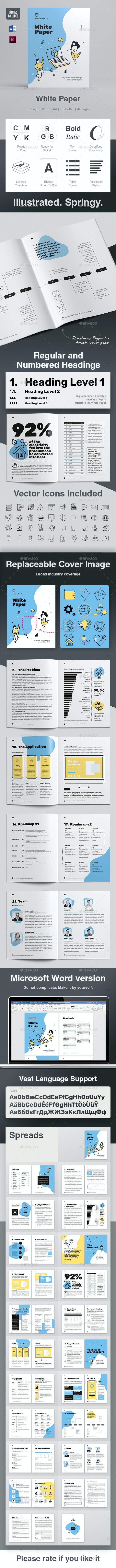 White Paper Illustrated