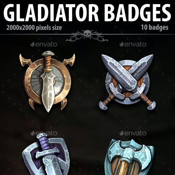 Gladiator Badges