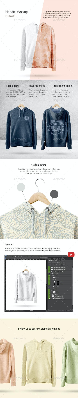 Hoodie Mockup - Product Mock-Ups Graphics