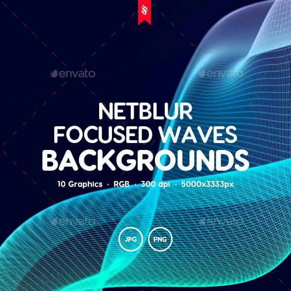Netblur - Focused Waves Backgrounds