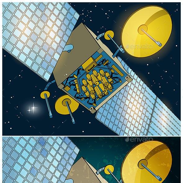 Space Satellite Set