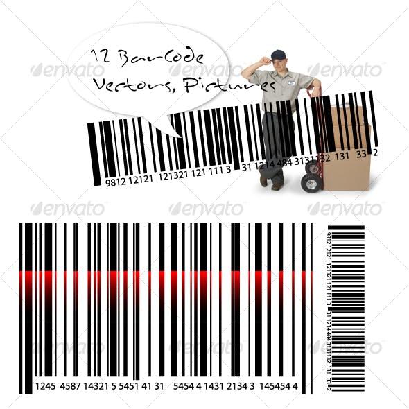 Barcode Vectors & Transparent Pictures