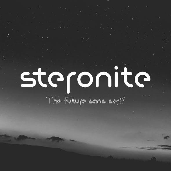 Steronite Font