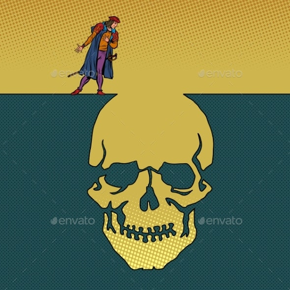 Hamlet and the Skull - People Characters