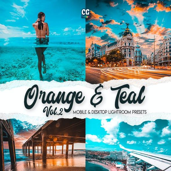 Orange & Teal Vol. 2 - 15 Premium Lightroom Presets