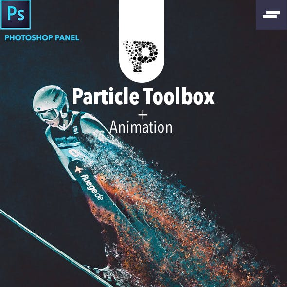 Animation Particle Toolbox Photoshop Panel