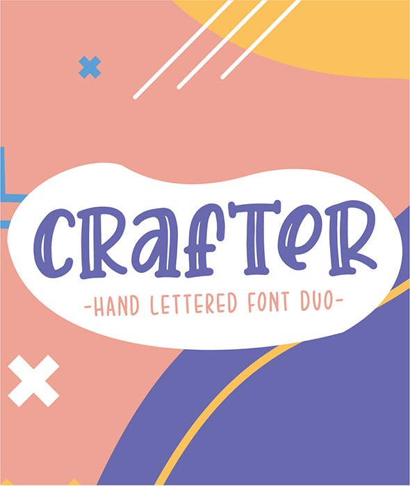 Crafter Font Duo - Hand-writing Script