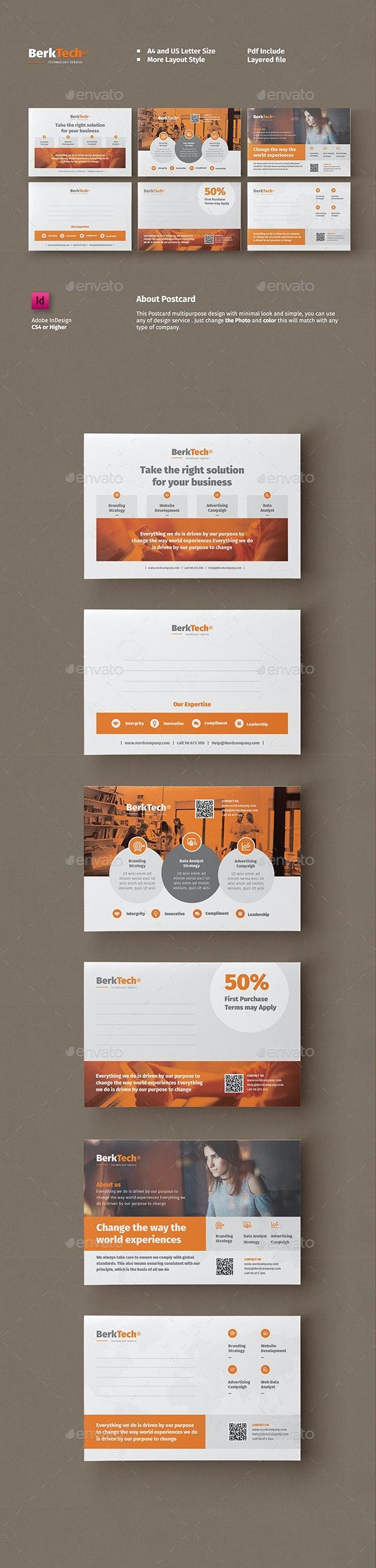 Business Postcard Templates - Cards & Invites Print Templates
