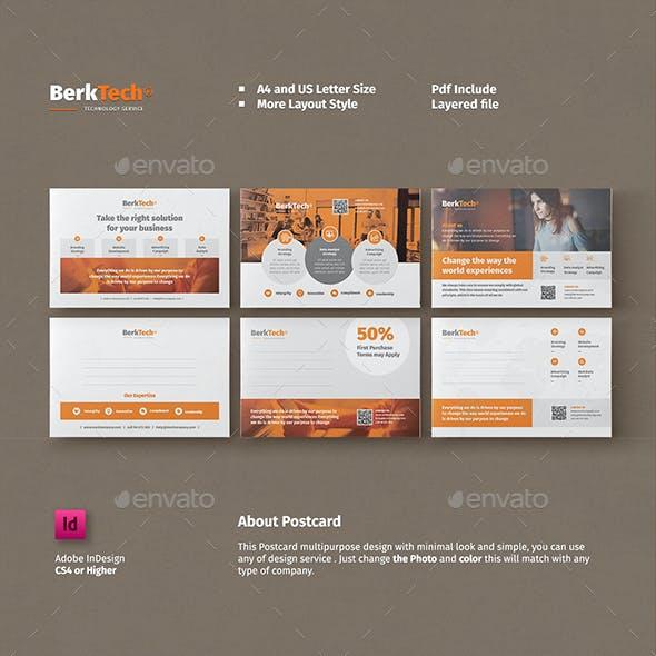 Business Postcard Templates
