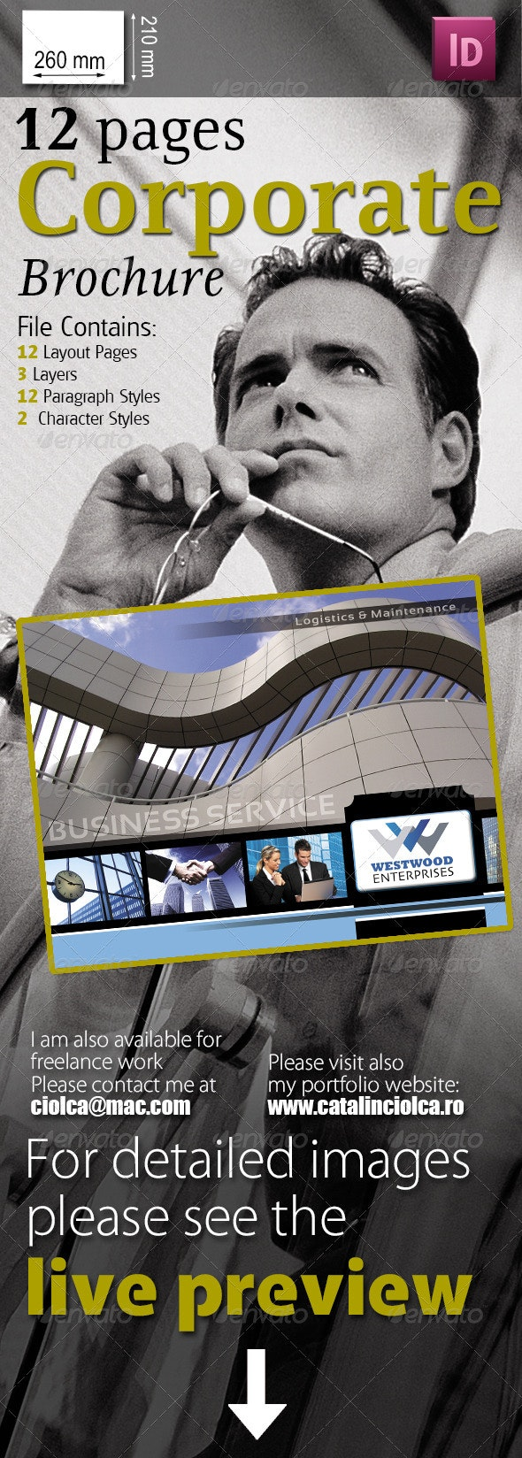 12 Pages Corporate Brochure - Corporate Brochures