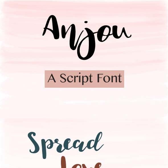 Anjou Script Font