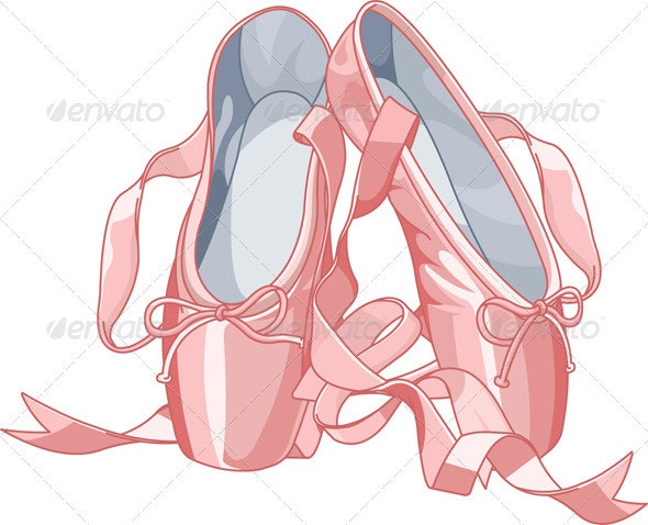 Ballet slippers - Man-made Objects Objects
