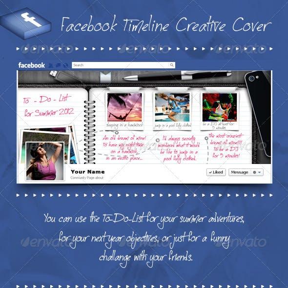 Facebook Timeline Cover - To Do List Agenda