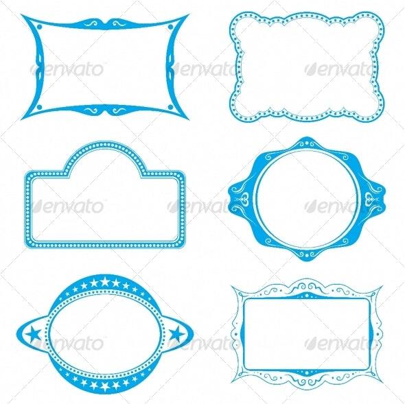Frame set - Decorative Symbols Decorative