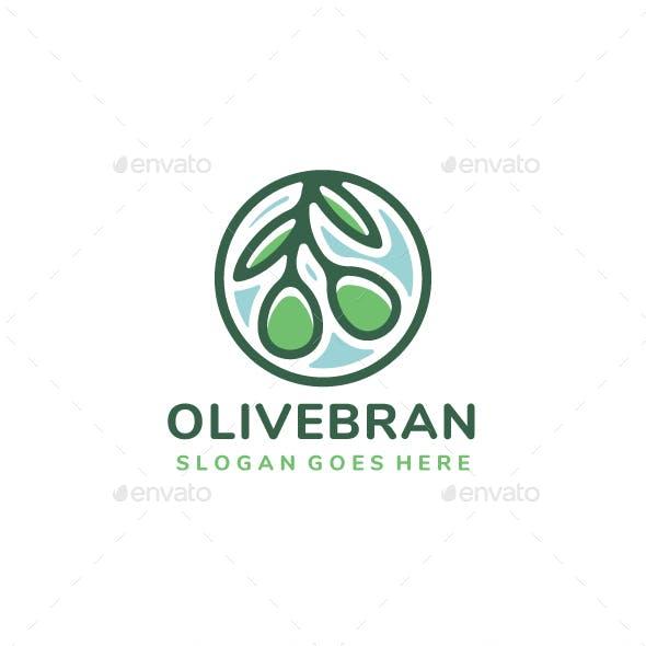 Olive Branch Logo Design
