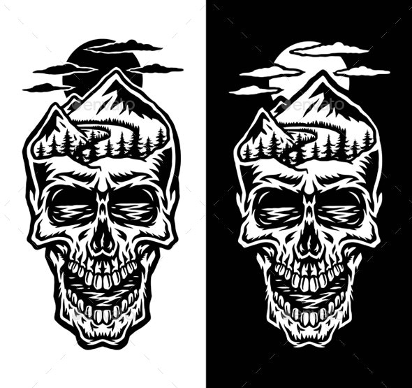 Mountain Head Skull - Miscellaneous Characters
