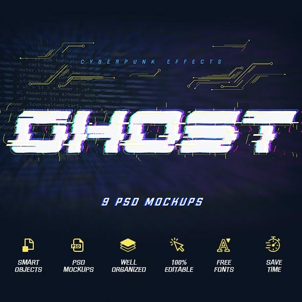 Cyberpunk Text Effects vol 2
