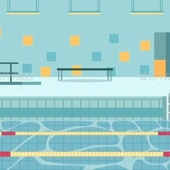 Indoor Swimming Pool Based Within School Grounds