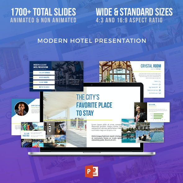 Travel & Hotel Presentation Template