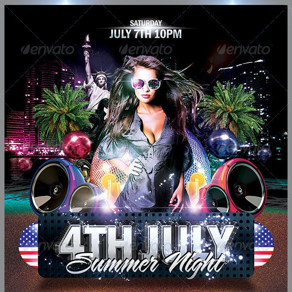 4th July Summer Night