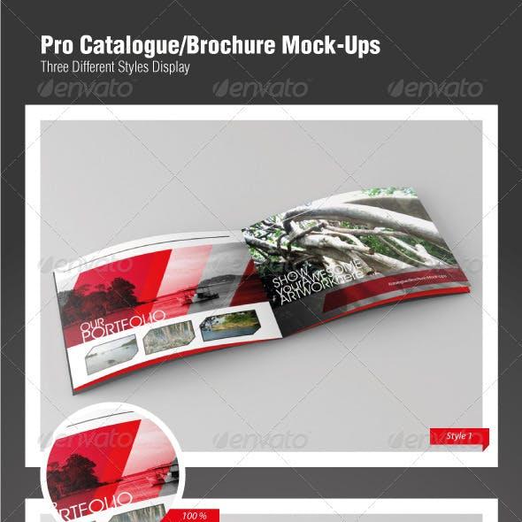 Pro Catalogue/Brochure Mock-Ups