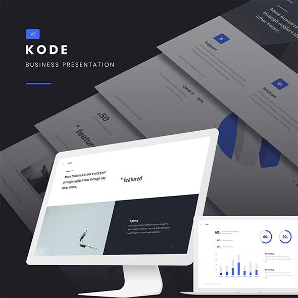 KODE - Business & Creative Template (PPTX)