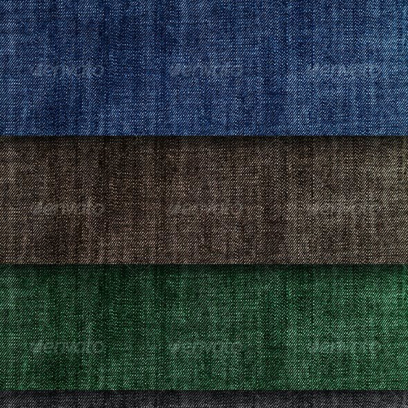 Authentic Colorful Jeans Textures Pack