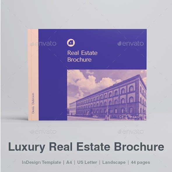 Modern Luxury Landscape Real Estate Brochure