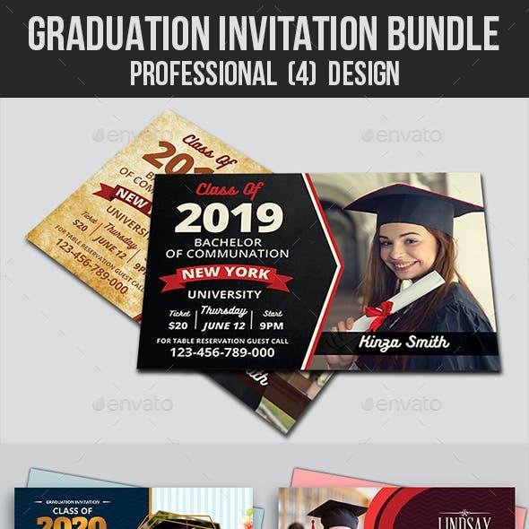 Graduation Invitation Bundle