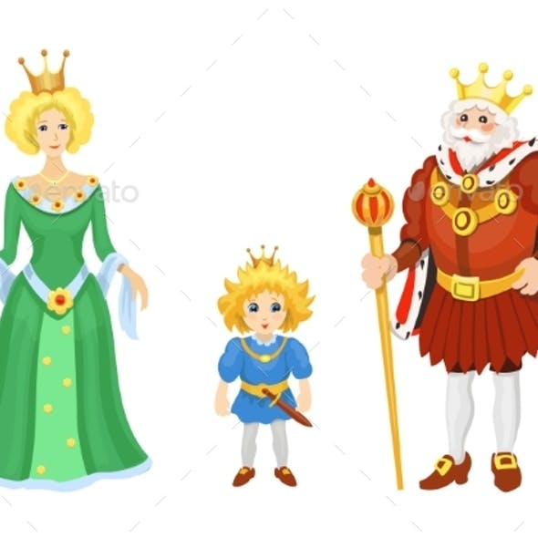 Cartoon Medieval Characters