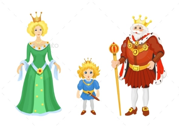 Cartoon Medieval Characters - Miscellaneous Vectors