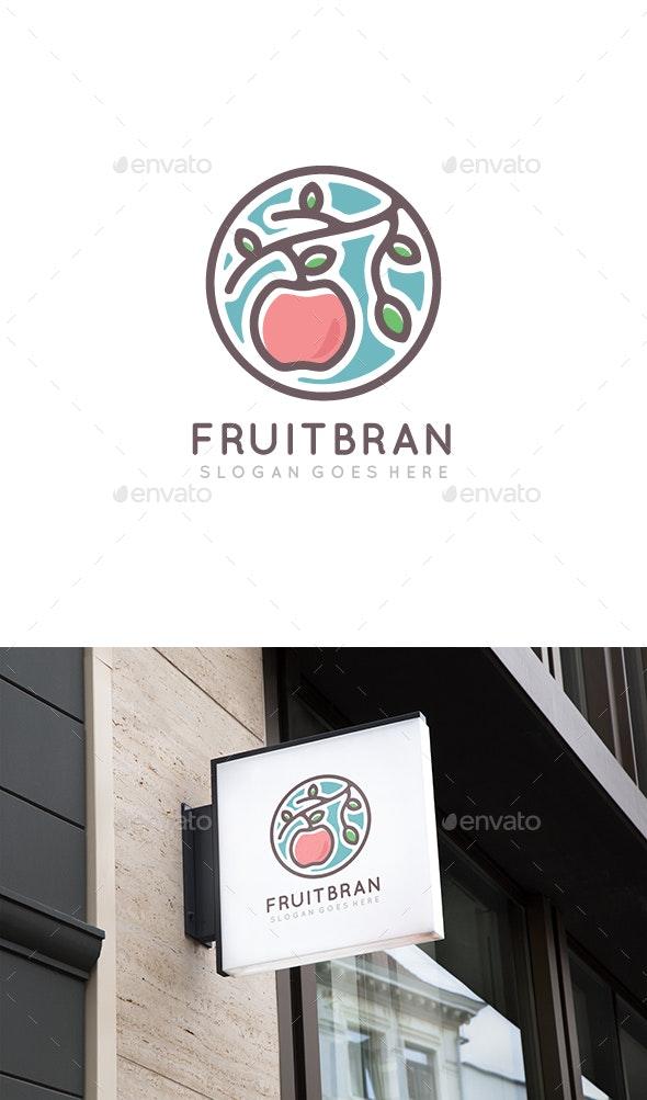 Fruit Branch Logo - Nature Logo Templates