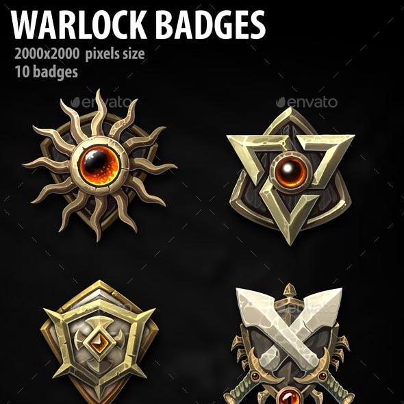 Warlock Badges