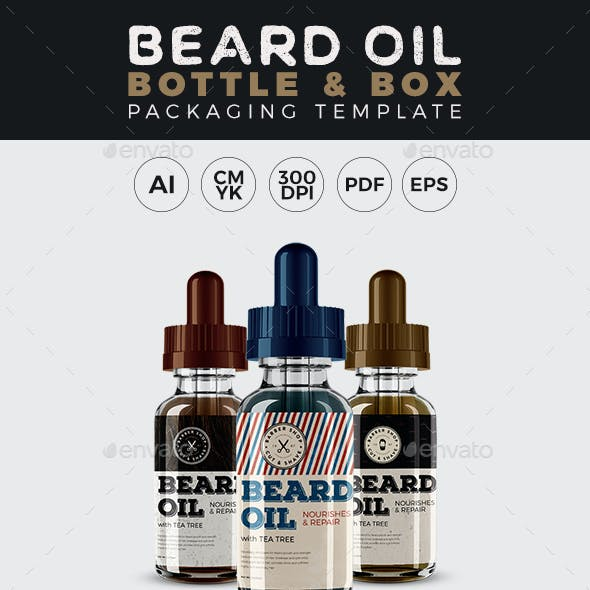 High Quality Beard Label Template