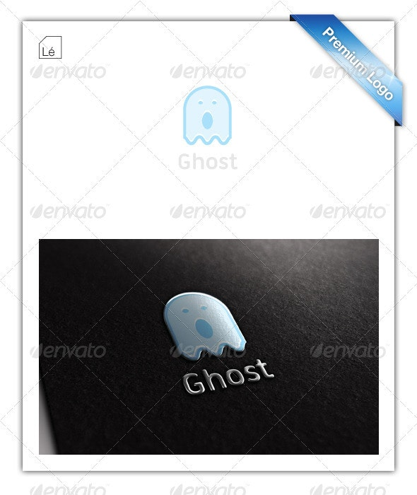 Baby Ghost Logo - Objects Logo Templates