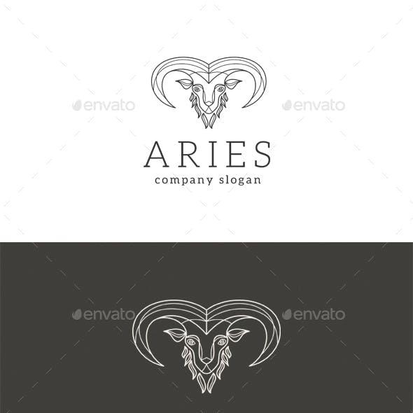 Aries - Goat Logo