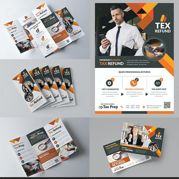 Business Tax Refund Print Templates