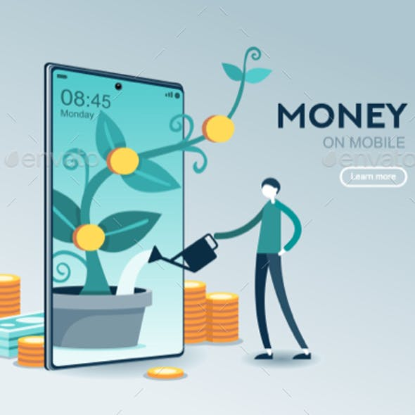 Investment Mobile Website Page