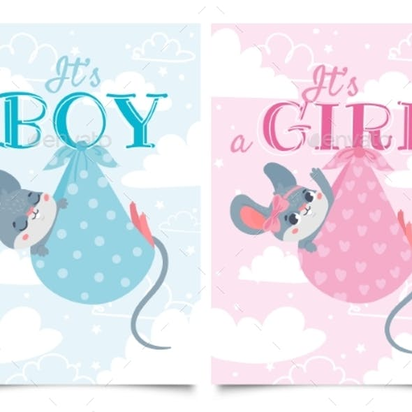 Its Boy and Girl Cards