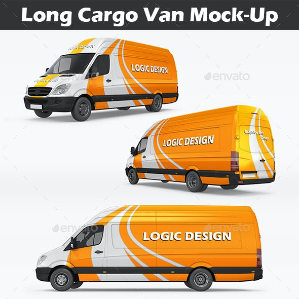 Long Cargo Van Mock-Up