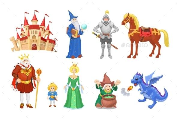 Fantasy Fairy Tale Clipart Cartoon Characters - Animals Characters