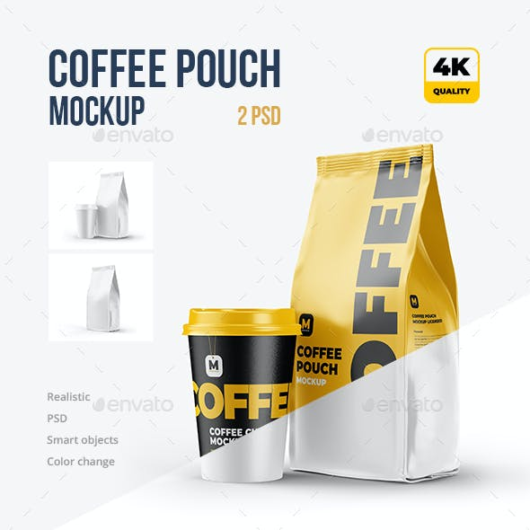 Half-Side Coffee Pouch (+ with Cup)