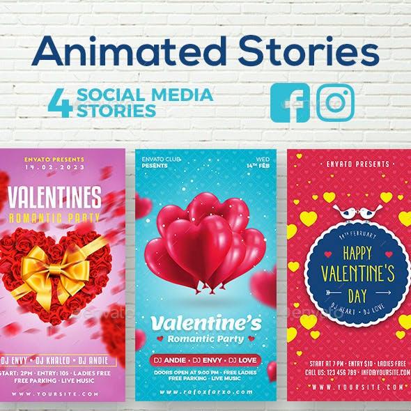 Animated Valentine Stories Bundle