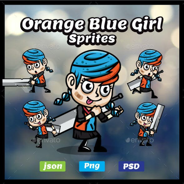 Sword Girl Sprites