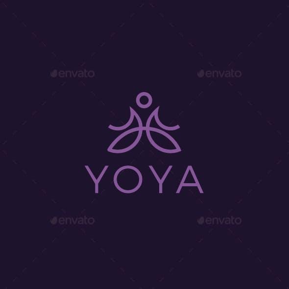 Yoya Yoga Logo