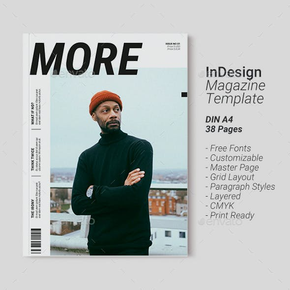 Magazine Template | More