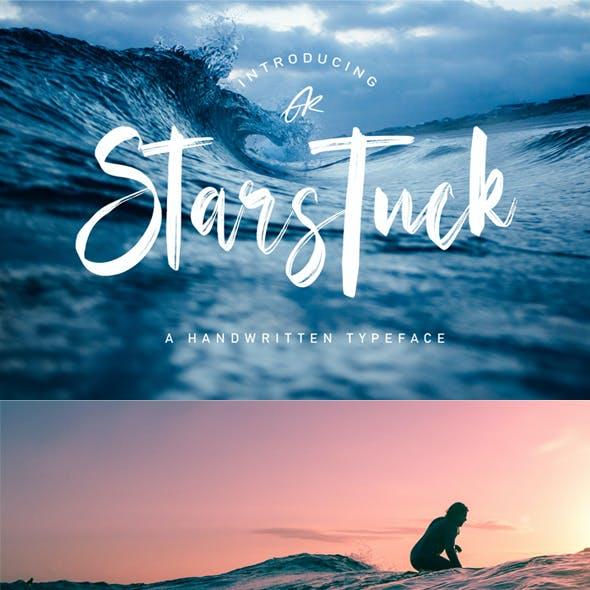 Starstuck Handwritten Typeface